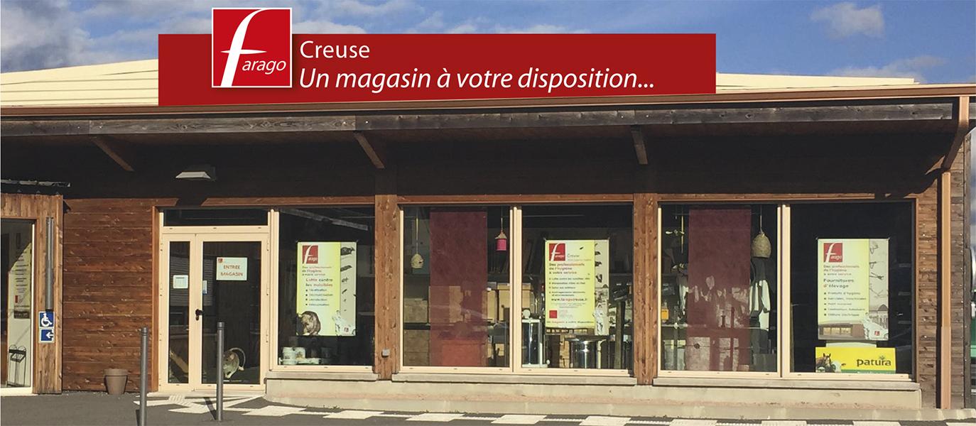 Farago Creuse - locaux