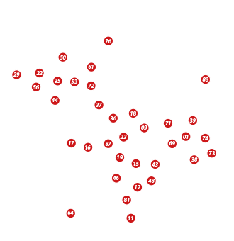 carte Fragao France agences