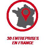 31 entreprises en France